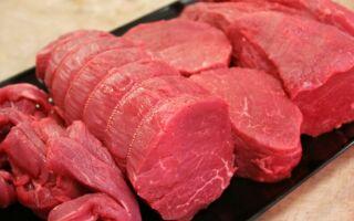 Питательные свойства говядины, калорийность