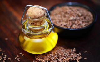 Льняное масло — польза, вред, свойства, применение