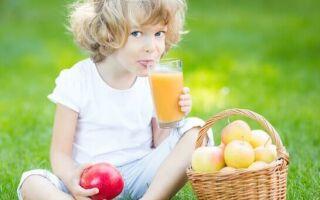 Яблочный сок, витамины