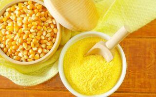 Кукурузная каша: свойства, калорийность
