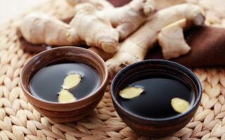 Чай с имбирем для похудения — рецепты