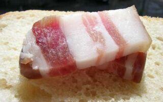 Какая польза свиного сала, калорийность