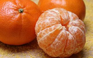 Прием мандаринов при похудении