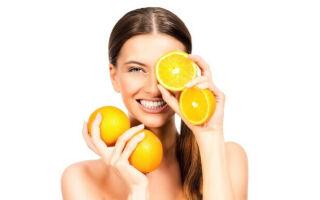 Продукты питания для кожи