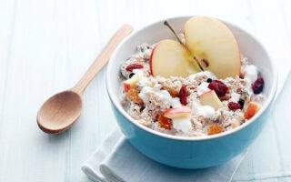 Какая польза от мюсли, калорийность