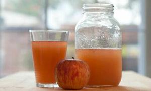 Как косервировать яблочный сок, рецепты