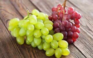 Cвойства винограда, калорийность