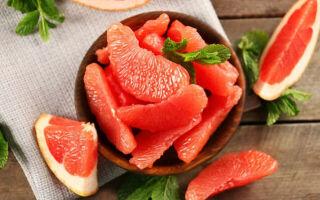 Польза и вред грейпфрута, калорийность