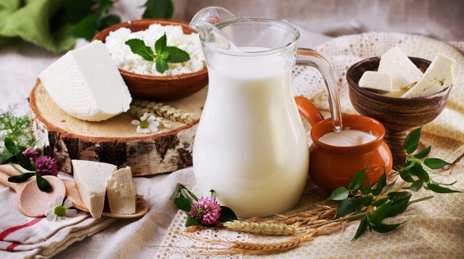 Молочные продукты полезны для кожи